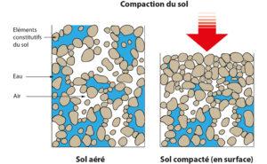 compactage du sol