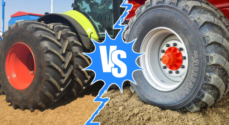 ima roues jumelées vs VF